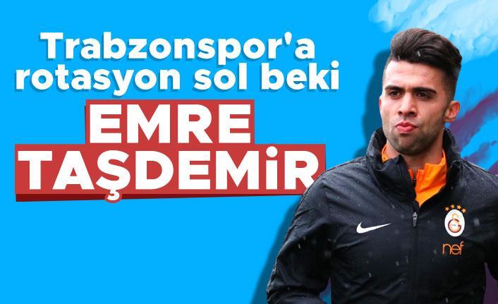 Trabzonspor'a rotasyon sol beki Emre Taşdemir