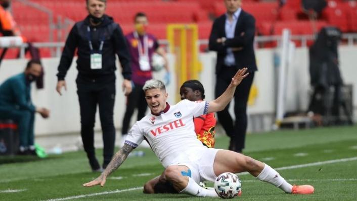 Trabzonspor'da bir futbolcu PFDK'ya sevkedildi
