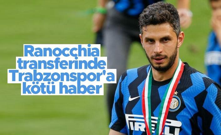 Ranocchia transferinde Trabzonspor'a kötü haber