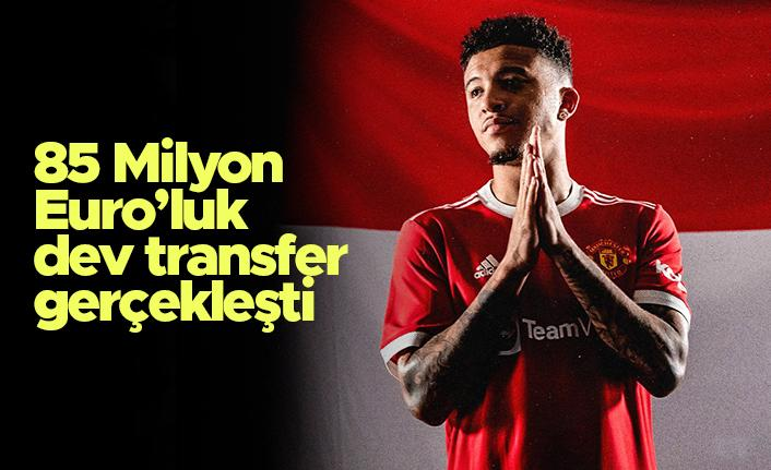 Jadon Sancho Manchester United'da