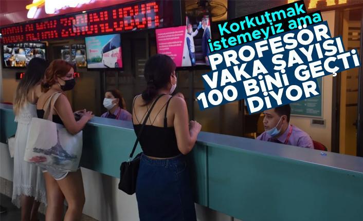 Prof. Dr. Mehmet Ceyhan: Aktif vaka sayısı 100 bini geçti