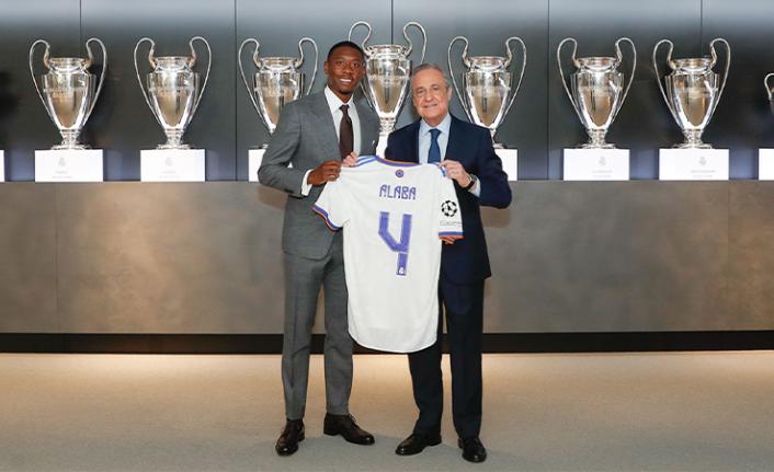 Real Madrid, David Alaba ile sözleşme imzaladı