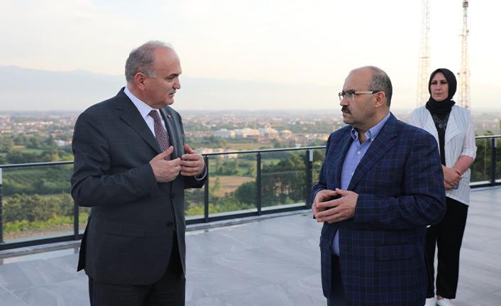 Trabzon Valisi İsmail Ustaoğlu Düzce'de
