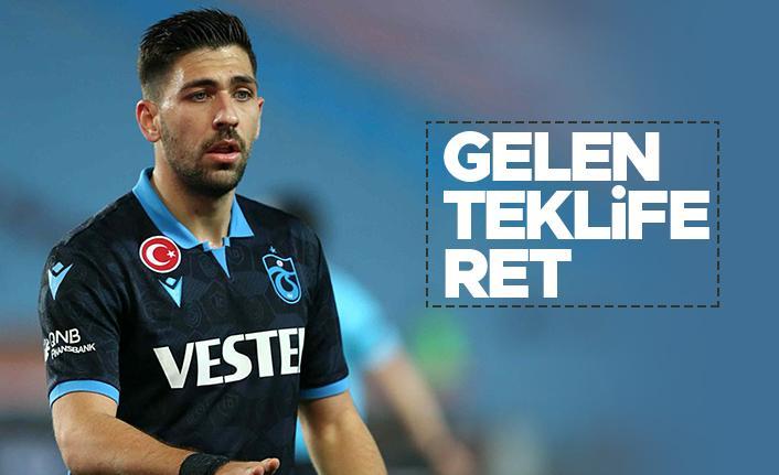 Trabzonspor'dan Bakasetas'a gelen teklife ret