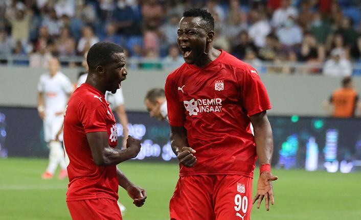 Sivasspor, Dinamo Batumi'yi mağlup etti.