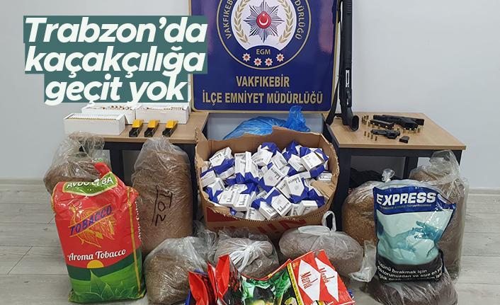 Trabzon'da kaçakçılığa geçit yok