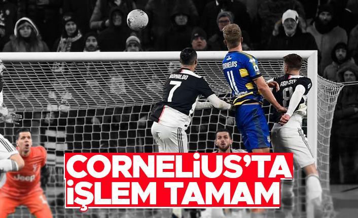 Trabzonspor Andreas Cornelius transferini bitirdi
