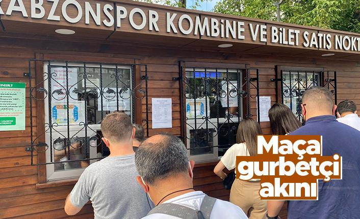 Trabzonspor'un Molde maçına gurbetçi akını