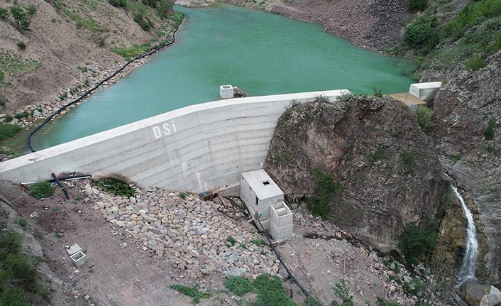 Artvin Seyitler Köyü Yeraltı Barajında su tutulmaya başlandı