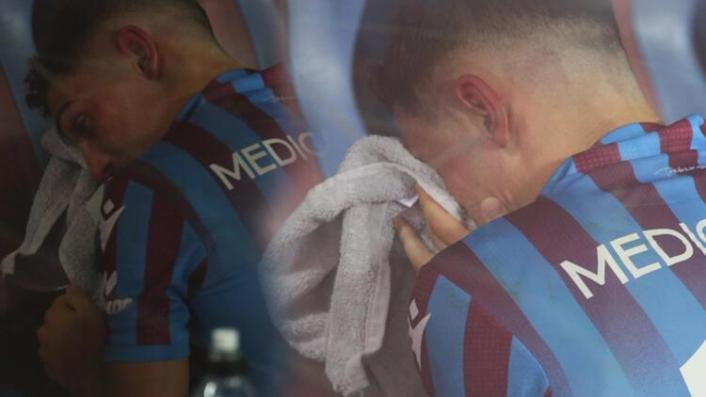Trabzonsporlu Abdülkadir Ömür gözyaşlarına hakim olamadı!