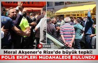 Meral Akşener'e Rize'de büyük tepki!